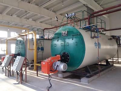 郑州大学第二附属医院两台燃气锅炉运中
